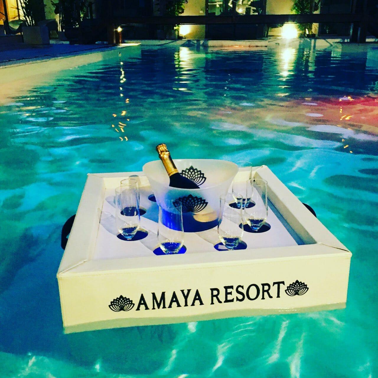 Bar flottant Amaya resort