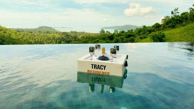 Bar flottant Tracy résidence