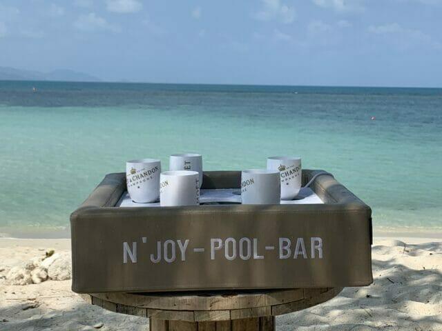 Bar flottant N'Joy Pool Bar